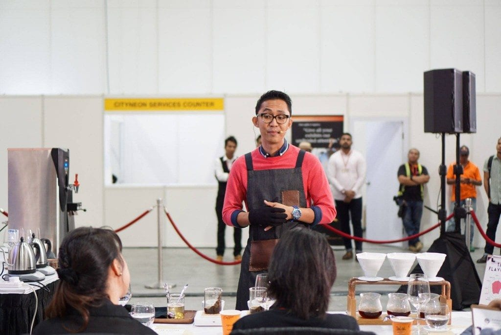 Suhaimie at the Singapore National Brewers Cup 2015