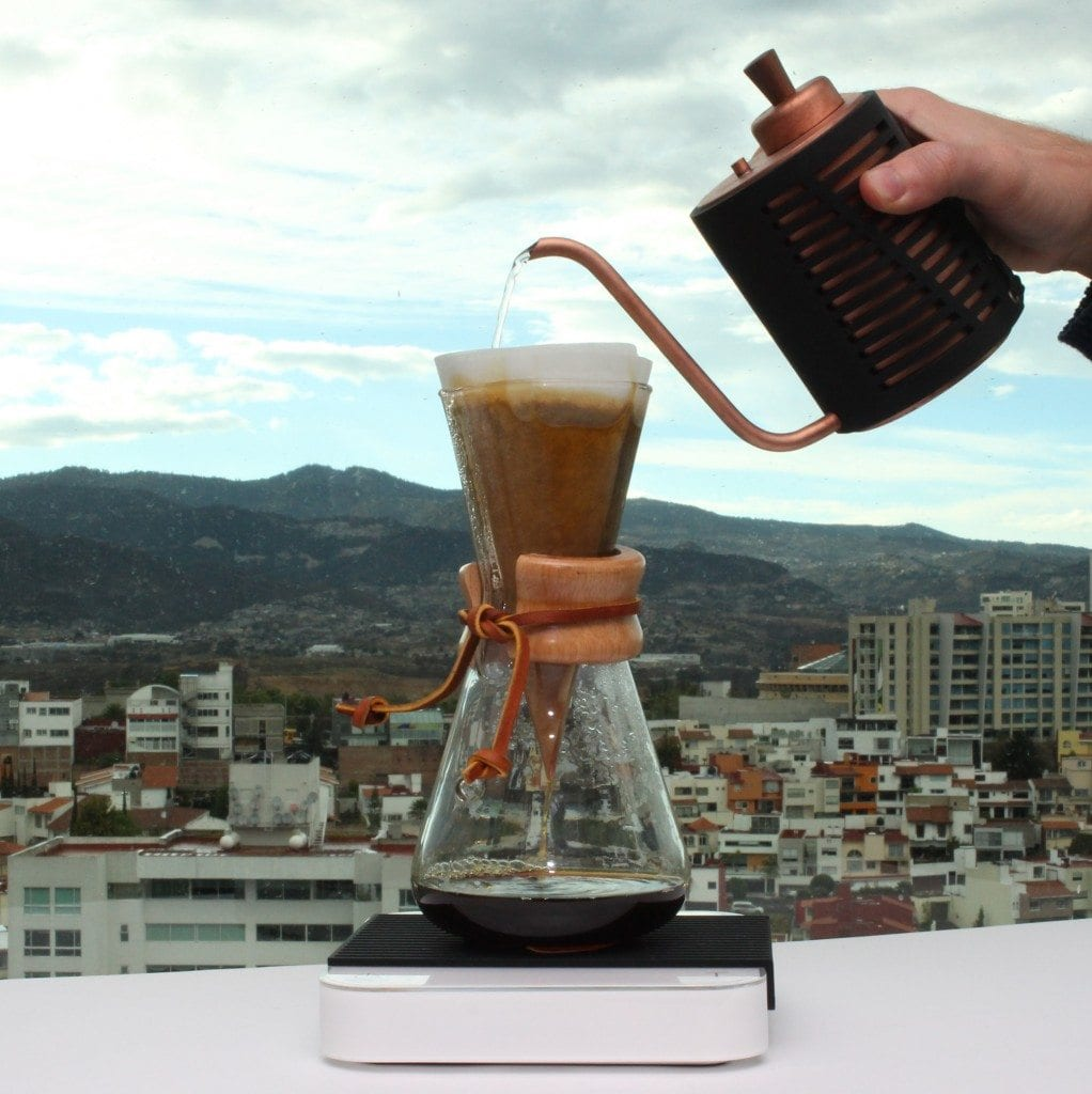chemex in beautiful scenery
