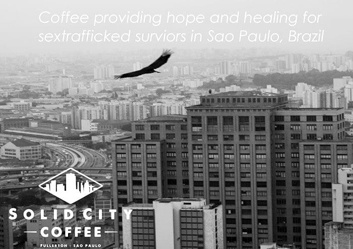 Banner of Solid City Coffee, Sao Paulo