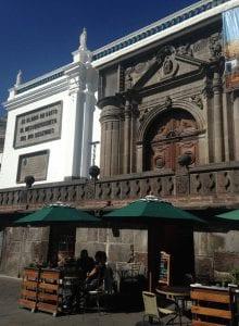 Ecuador cathedral