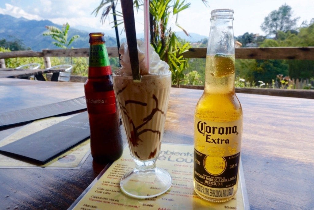 The Milkshake corona beer colombia