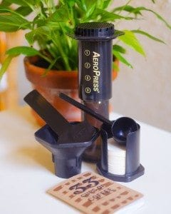 The AeroPress kit