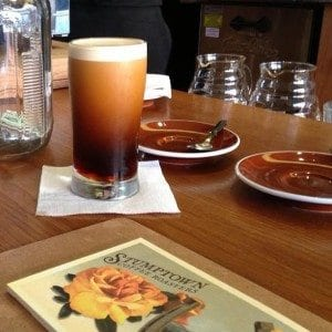 Nitro cold brew of Stumptown Coffee Roasters