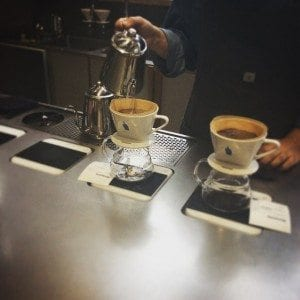 Coffee brewed with a Bonmac dripper