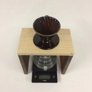 three cord creations pour over stand