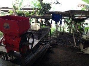 Coffee processing equipment