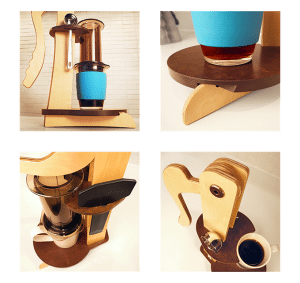 Stylish, compact, and an overall easier AeroPress experience