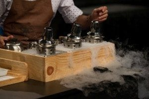 Dry ice technique