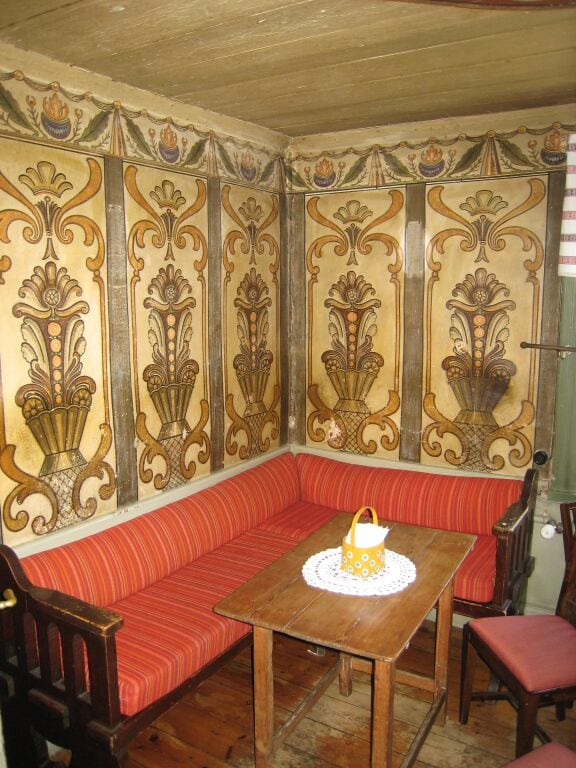 The original interior of a century-old, family-run konditori