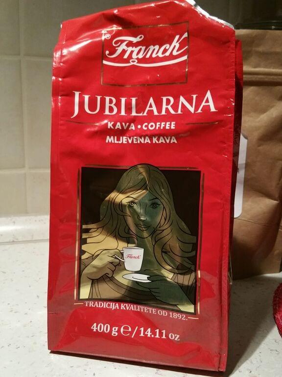 Franck Jubilarna coffee