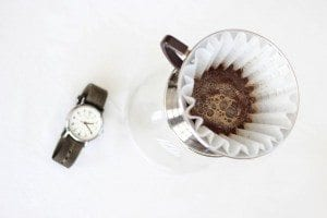 Kalita wave with a wristwatch
