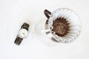 Kalita wave with a wristwatch