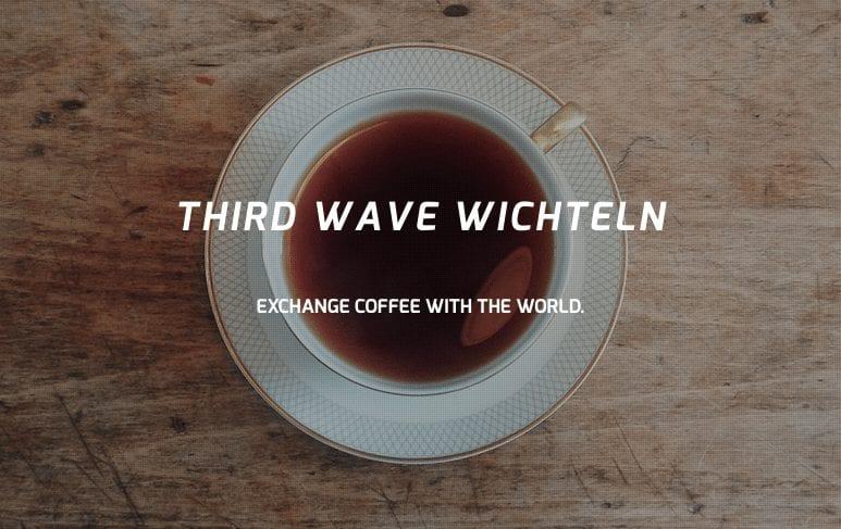 Third Wave Wichteln coffee