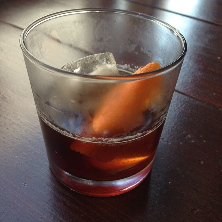Cold Brew Old Fashioned