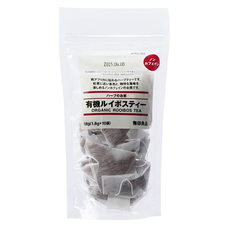 Organic Rooibos sold at Muji, a major Japanese chain.