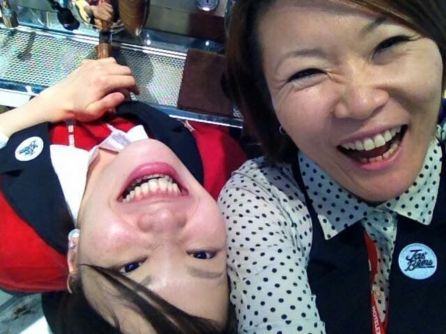 Hanna Teramoto and Miki Suzuki