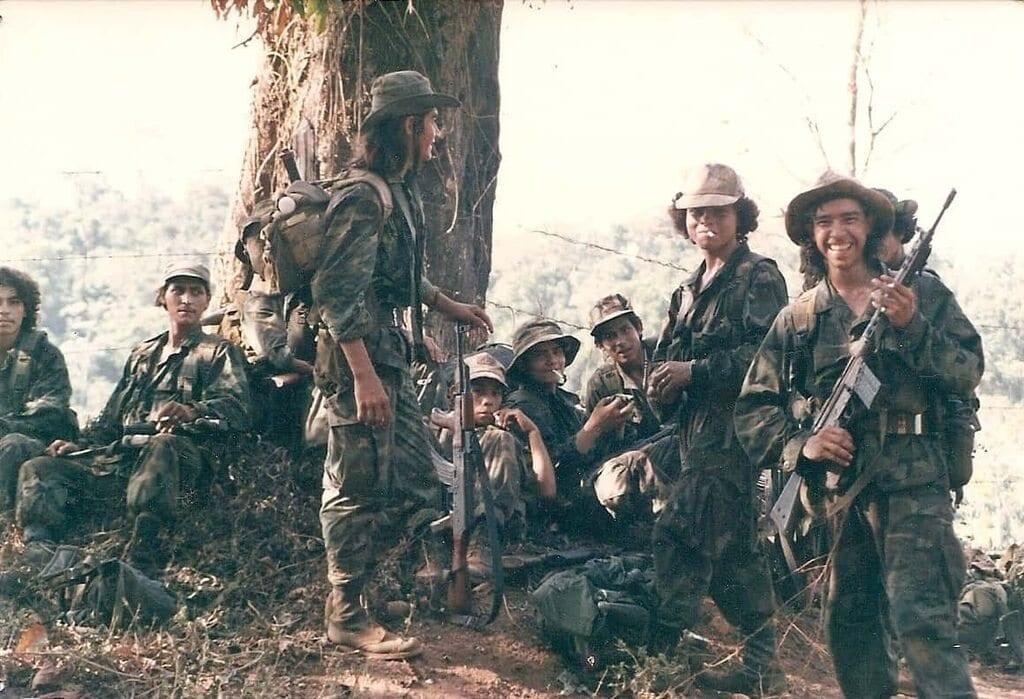 Young Sandinista (FSLN) guerrillas