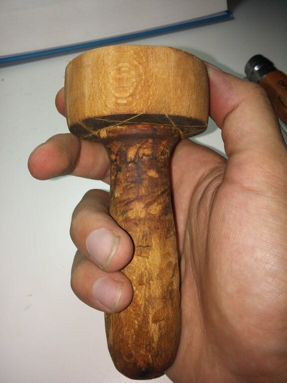 carved tamper
