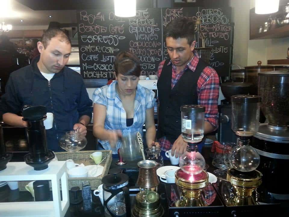 SCAE Barista Course and Certification