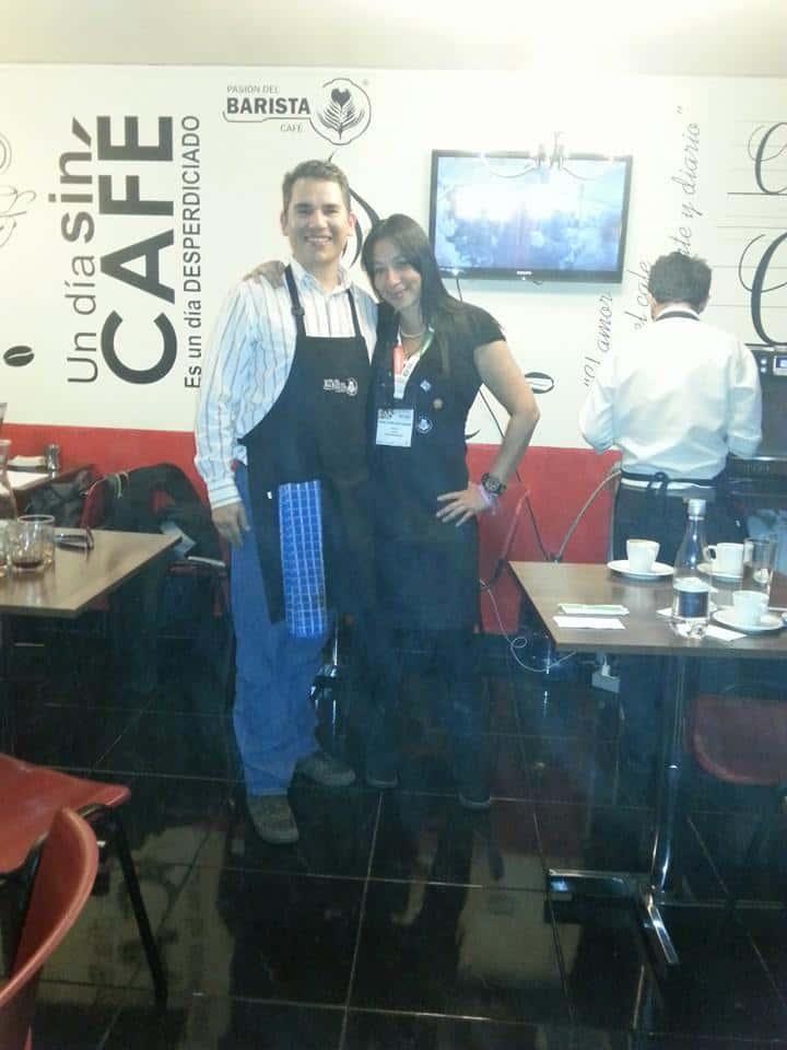 SCAE barista training