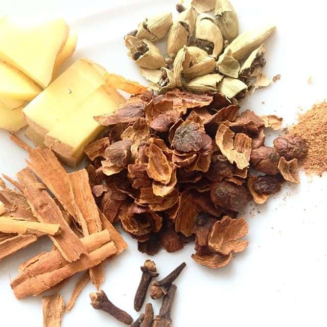 Cascara and spices