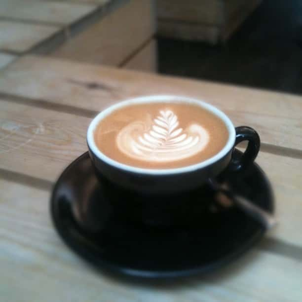 Flat White at Kaffeine