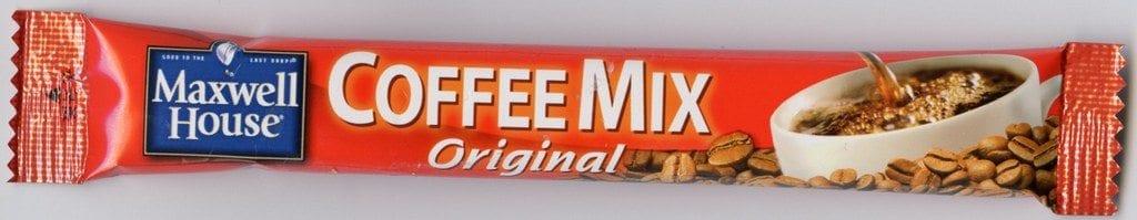 Ged Carroll Korean Maxwell House coffee