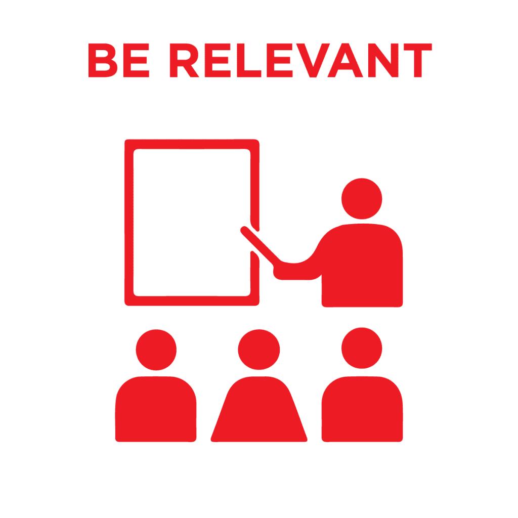 be relevant