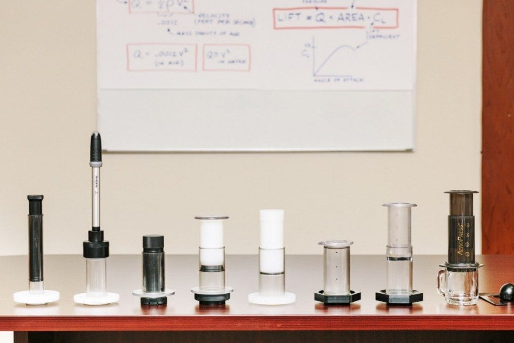 Aeropress development