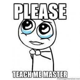 teach me master