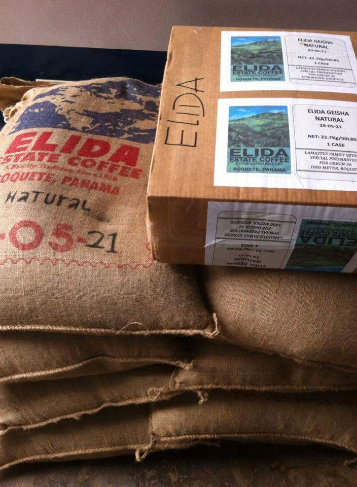 Geisha de Elida Estate