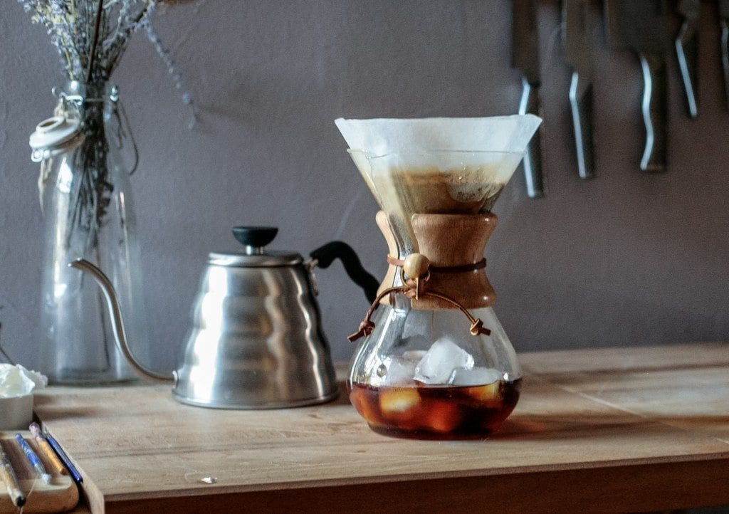 iced chemex coffee