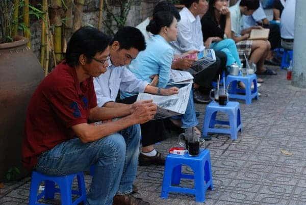 street coffee vietnam