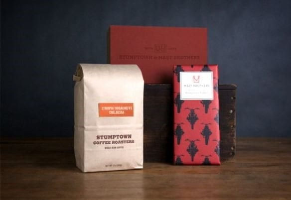 stumptown coffee and chocolate