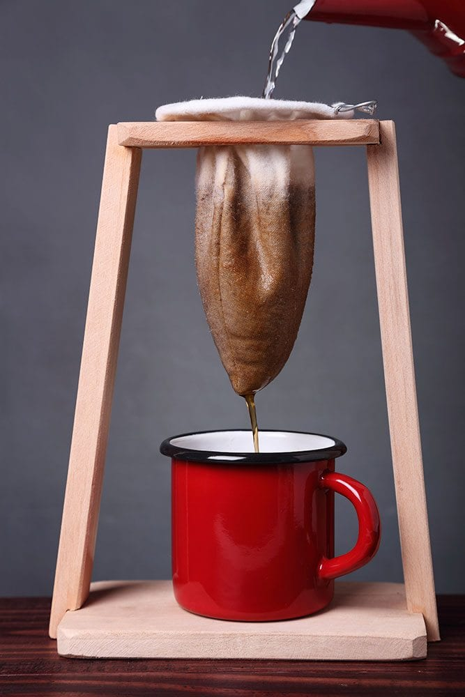 Old School Spanish Coffee Maker : Coffee Sock: Old-School Filters That Save the Planet - Perfect Daily Grind