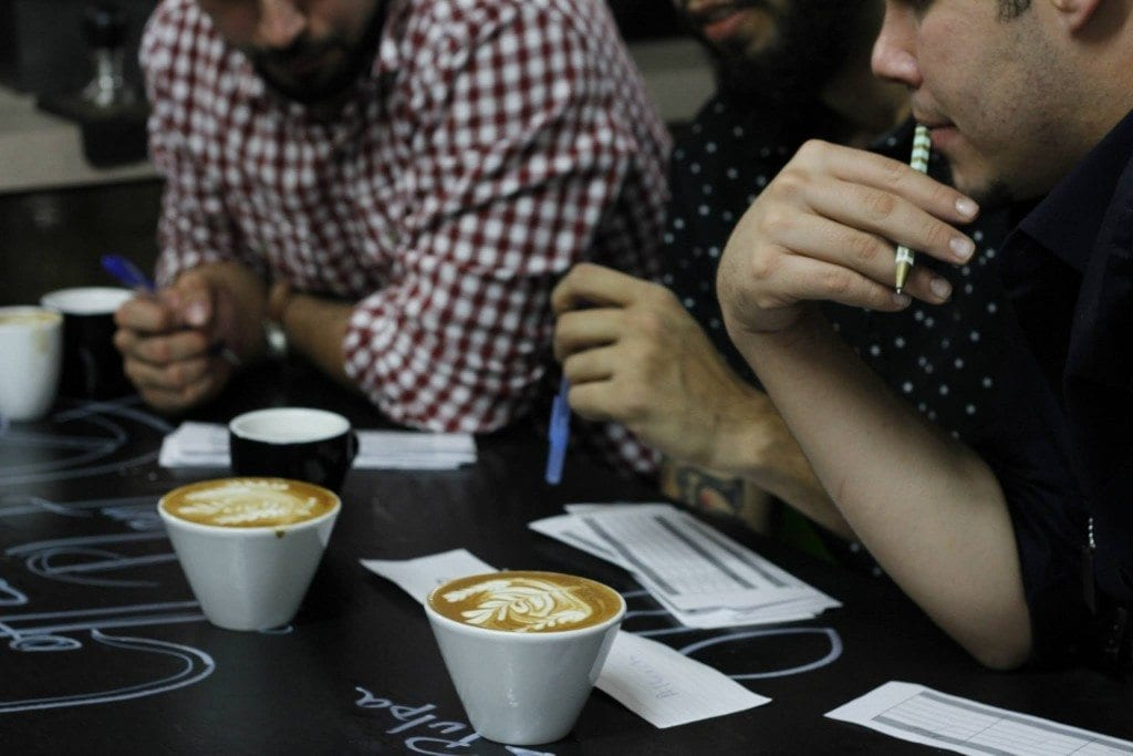 latte art judging