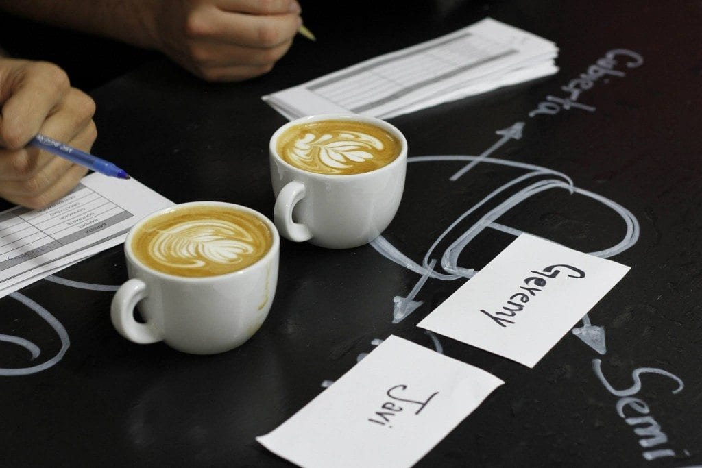 judgind latte art
