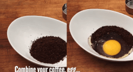 How to Make Norwegian Egg Coffee in 60 Seconds #LatteArt