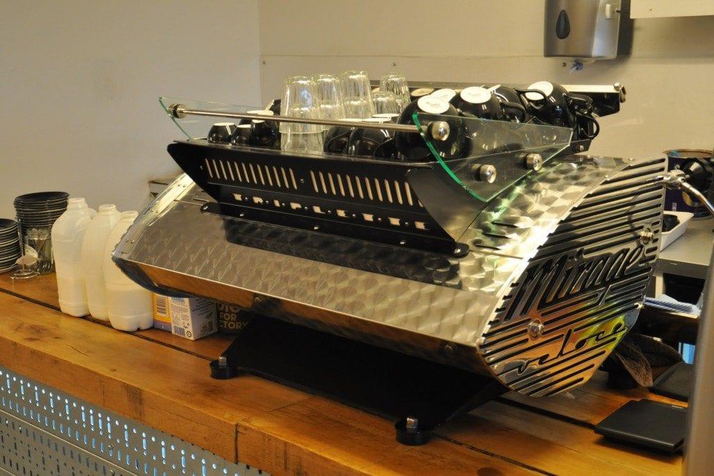 Electric Coffee Co's Kees van der Westen espresso machine