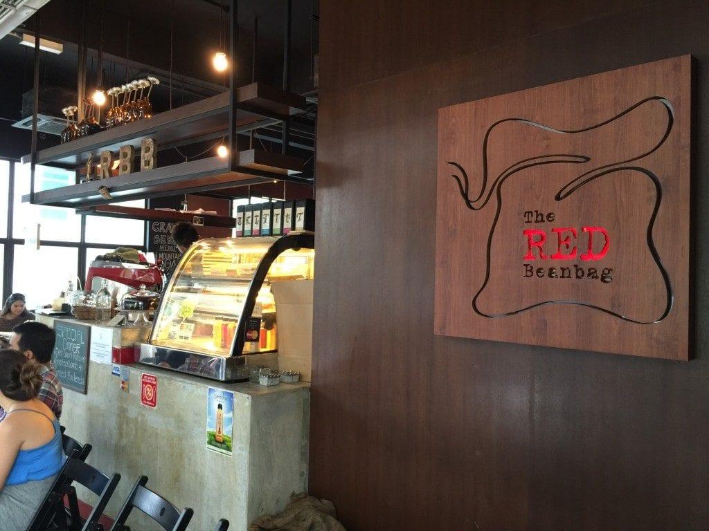 Red Beanbag coffee shop in Kuala Lumpur