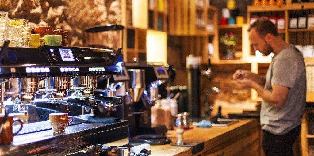 espresso machine at tailor made