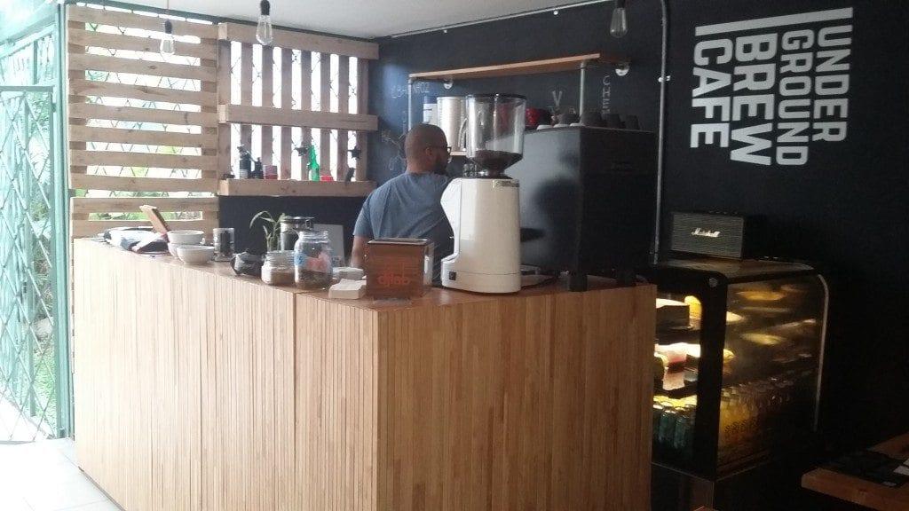 Underground Brew café