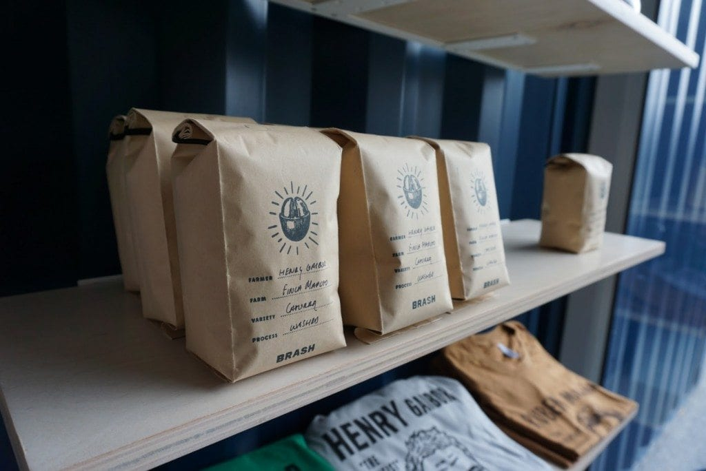 Brash coffee bags for sale