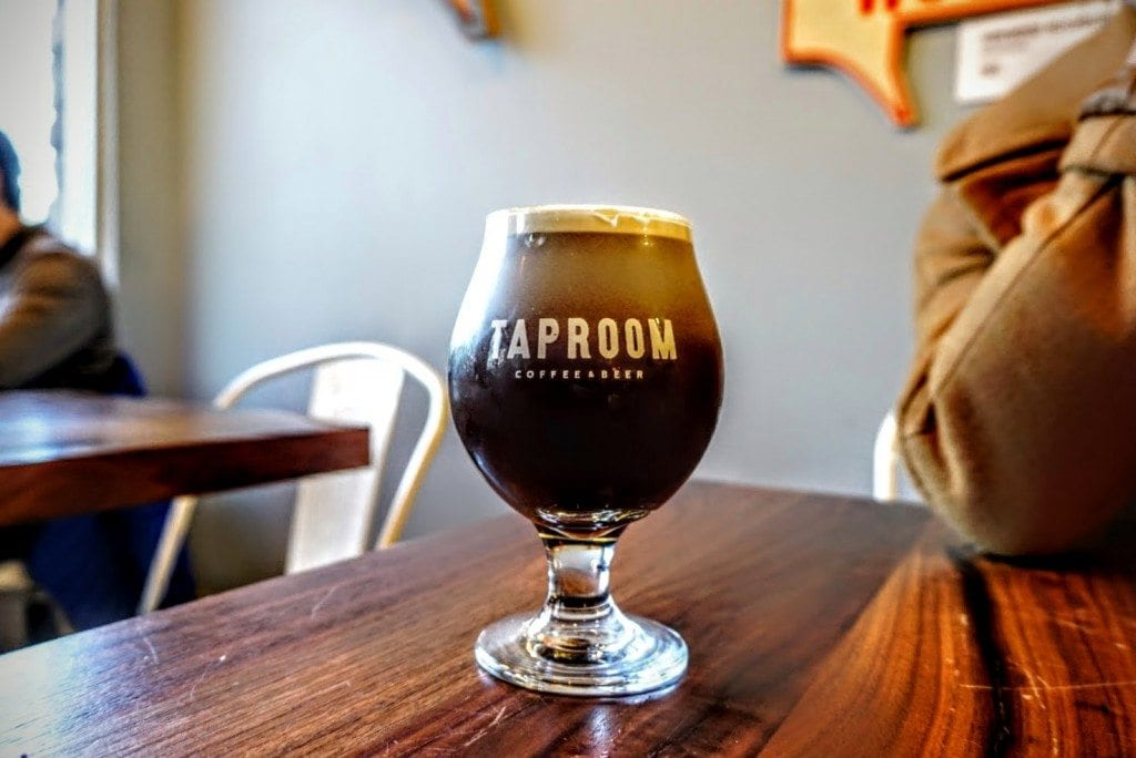 taproom beerpresso, espresso and beer mixed