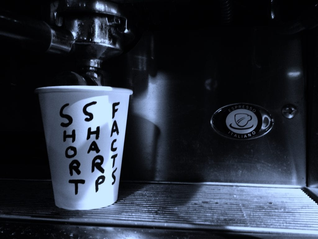 coffee to go cup short sharp facts
