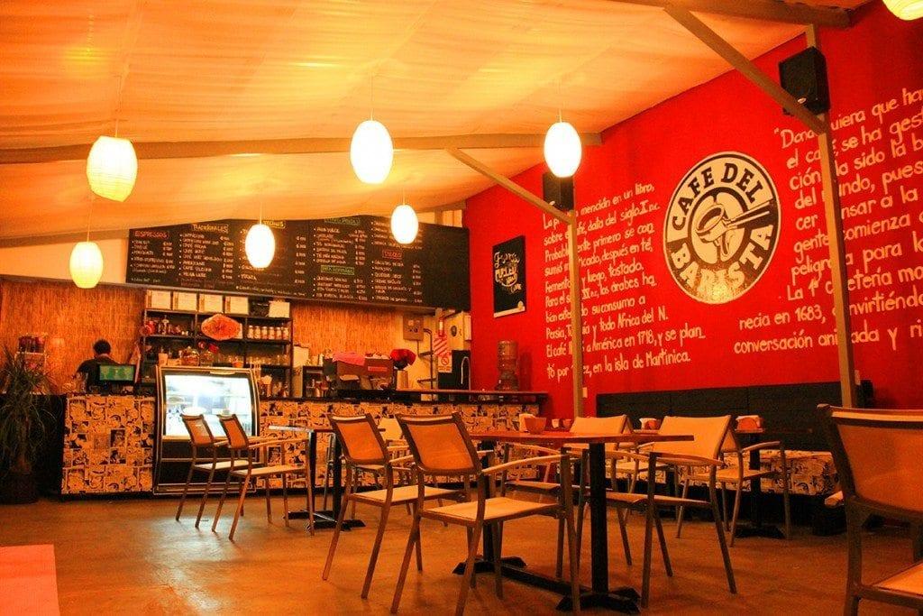 Café del Barista interior