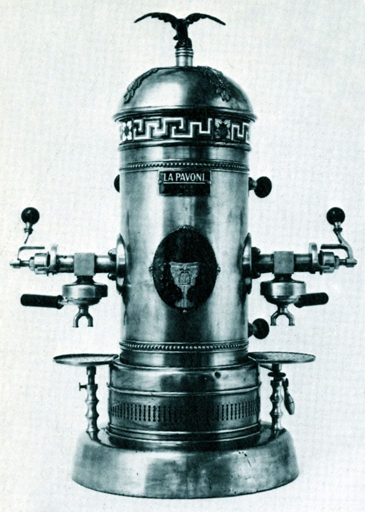 1910 Ideale espresso machine