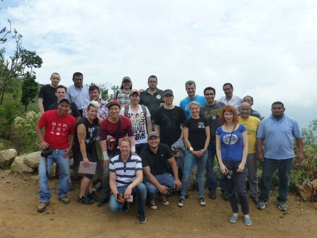 cup of excellence group photo el salvador