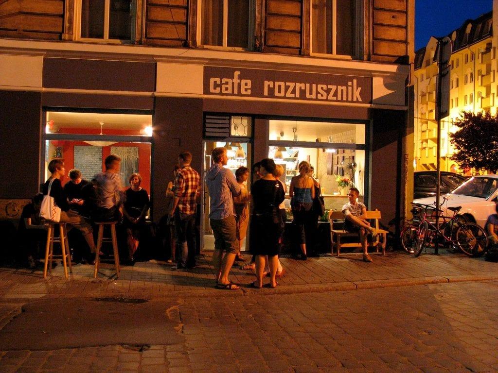 Rozrusznik coffee shop wroclaw