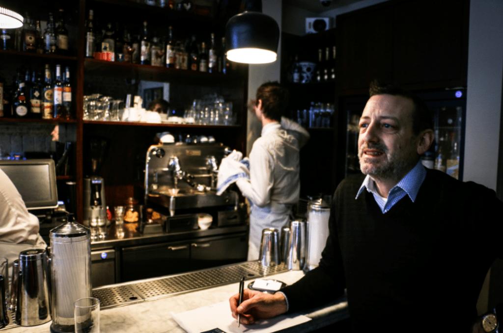 Marco Arrigo, Head of Quality at Illy and proprietor of Bar Termini